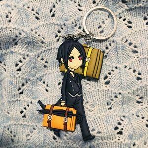 NWT Black Butler Kuroshitsuji Sebastian Keychain